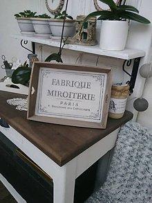 "Nádoby - Tácka "" Fabrique miroterie "" - 8958053_"