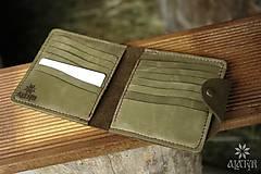 Peňaženky - Kožená dokladovka - 8958503_
