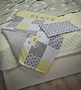 Textil - MINKY deka pre najmenších ♥ s našitým menom - 8957374_