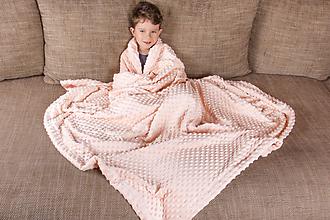Textil - Minky deka-prehoz,11 odtieňov 140cm x 200cm - 8958919_