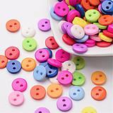 Farebné gombíky mix 30 ks