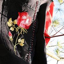 Šaty - Kvete růže...ZĽAVA! - 8959504_