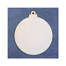 Polotovary - Výrez Mrazom maľovaný - Maxi guľa 13,7x15,7cm - aj ako album - 8959615_
