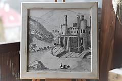 Kresby - Staroveký hrad - 8959449_