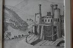 Kresby - Staroveký hrad - 8959450_