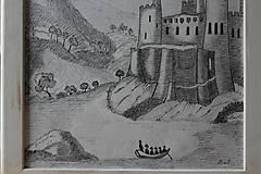 Kresby - Staroveký hrad - 8959451_