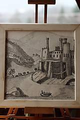 Kresby - Staroveký hrad - 8959452_