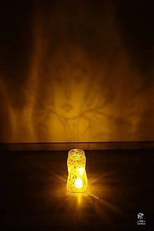 Svietidlá a sviečky - Boho svietnik