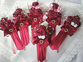 Pierka - Svadobné pierka pre rodičov a svedkov - 8959828_