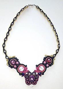 Náhrdelníky - Šujtášový náhrdelník - 8959891_