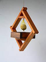 Pre zvieratká - Vtáčie balkónové krmítko Áčko - 8959149_
