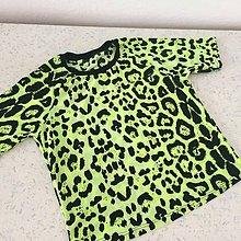 Detské oblečenie - Tričko-tygřík neon 146 - 8960052_