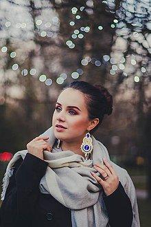 Náušnice - Paula (Krémová) - 8959638_