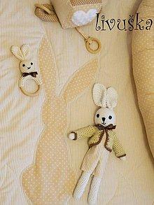 Textil - velky set do porodnice krémový - 8960338_