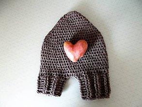 Rukavice - zamilovaná partnerská rukavička - 8960519_