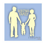 - Výrez Špeciálny deň - Rod(z)ina / Family - veľký výrez - 8961238_