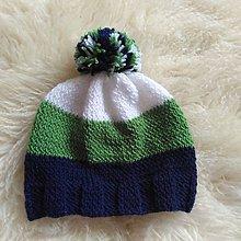 Detské čiapky - Farebná čiapočka - 8960965_