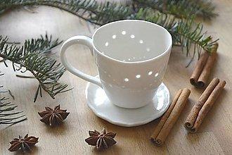 Nádoby - Porcelánový pohár  - 8961067_