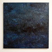 Obrazy - Obraz Abstract 100x100cm Le Grand Bleu  - 8960750_