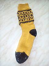 Obuv - pletené ponožky - 8962215_