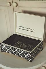 Krabičky - Svadobná truhlica Élégance - 8962435_