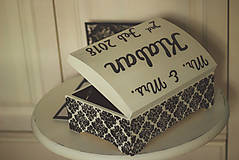 Krabičky - Svadobná truhlica Élégance - 8962436_