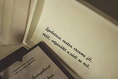 Krabičky - Svadobná truhlica Élégance - 8962437_