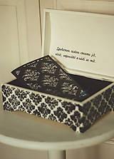 Krabičky - Svadobná truhlica Élégance - 8962438_