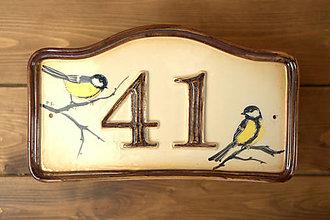 Tabuľky - Číslo domu z keramiky - 8963201_