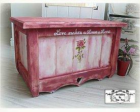 """Nábytok - Truhlica """"Love makes a House a Home"""" :) - 8962748_"""