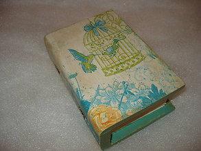 Krabičky - šperkovnička - kniha - 8965295_