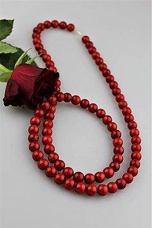 Náhrdelníky - koral červený náhrdelník dlhý - AKCIOVÁ cena - 8964126_