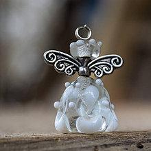 Iné šperky - Anjelik Vločka - 8965039_