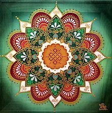 Obrazy - Mandala úspechu, hojnosti a radosti v živote - 8963870_