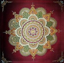 Obrazy - Mandala...Tam kde býva láska - 8965364_