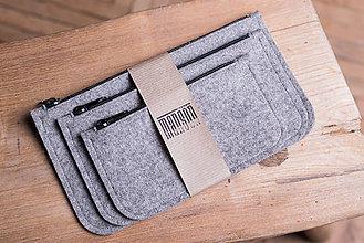 Taštičky - Kozmetické tašky - grey - 8964807_