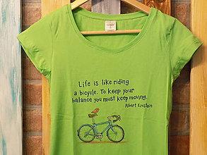 Tričká - Dámske tričko - Einstein - 8964066_