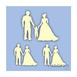 - Výrez Špeciálny deň - mladý pár, mladý pár s dieťaťom - 8966123_
