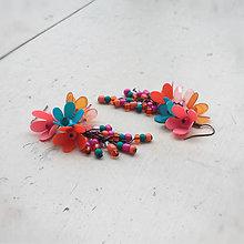 Náušnice - pastel summer - 8966028_