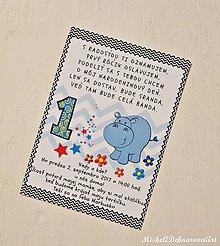 Detské doplnky - Pozvánka na narodeninovú oslavu