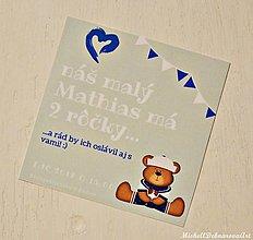 """Detské doplnky - Pozvánka na narodeninvú oslavu """"Sailor"""" - 8967263_"""