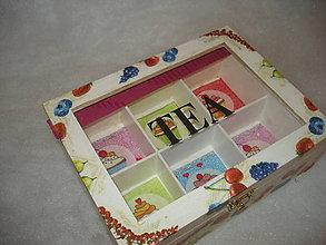 Krabičky - Krabička na čajíky - 8965519_