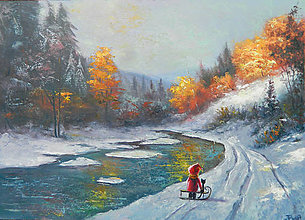 Obrazy - Zimni svetlo - 8965447_