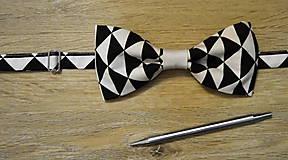 Doplnky - pánsky motýlik-minimalizmus - 8966847_