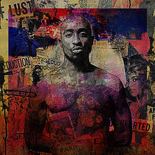 Obrazy - Pop Art obraz 2Pac - 8966275_