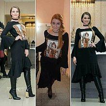 Šaty - Hodvábne šaty
