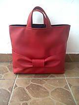 - Nákupná taška s mašľou - 8967643_