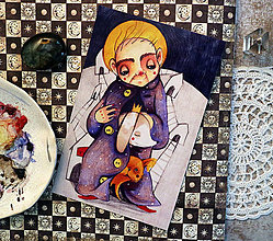 Grafika - Dušička Pomáhajko - 8967970_