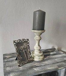 Svietidlá a sviečky - Vintage svietnik - 8969315_
