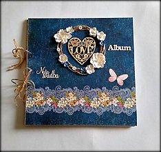 Papiernictvo - Svadobný folk album 30x30 cm - 8969570_
